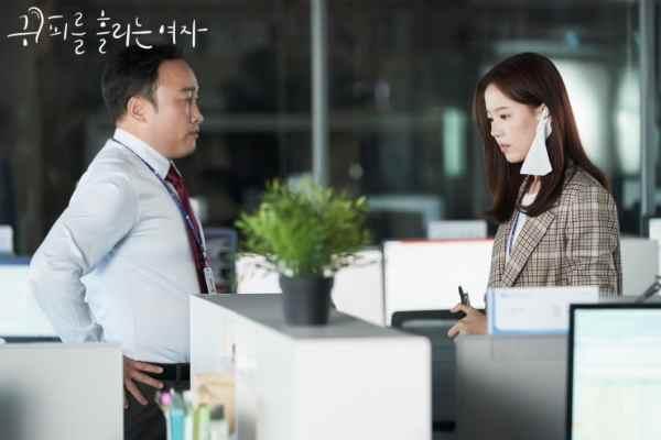 woman with a bleeding ear korean drama