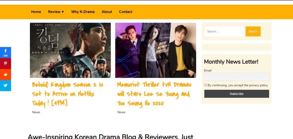 Korean-Drama-Website-Dramarun