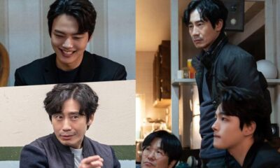 """yeo-jin-goo-and-shin-ha-kyun-go-from-cheerful-smiles-to-icy-glares-in-split-second-behind-the-scenes-of-""""beyond-evil"""""""