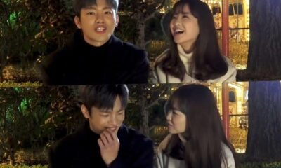 """watch:-seo-in-guk-and-park-bo-young-play-a-game-to-test-their-chemistry-behind-the-scenes-of-""""doom-at-your-service"""""""